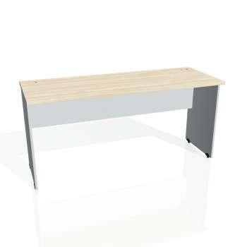 Psací stůl Hobis GATE GE 1600, akát/šedá