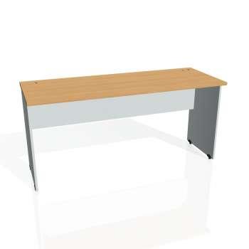 Psací stůl Hobis GATE GE 1600, buk/šedá