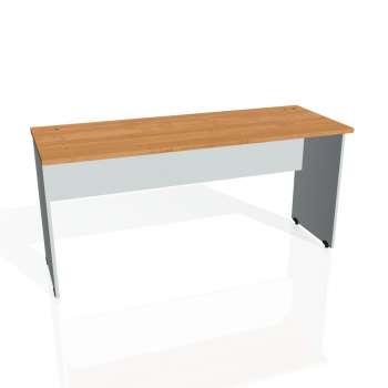 Psací stůl Hobis GATE GE 1600, olše/šedá