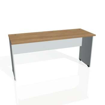Psací stůl Hobis GATE GE 1600, višeň/šedá