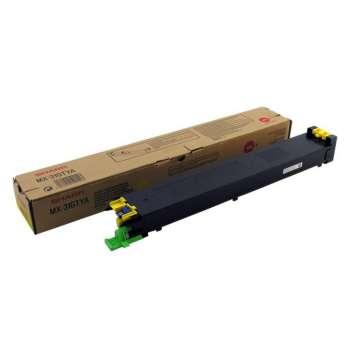 Toner Sharp MX-31GTYA - žlutý
