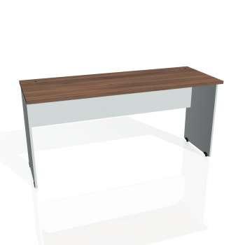 Psací stůl Hobis GATE GE 1600, ořech/šedá