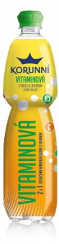 Ochucená minerální voda Korunní - vitamínová, 6 x 0,75 l