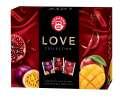 Kolekce ovocno-bylinných čajů Teekanne LOVE