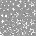 Ubrousky 3-vrstvé Hvězdy stříbrné