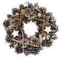 Vánoční věnec přírodní 30cm