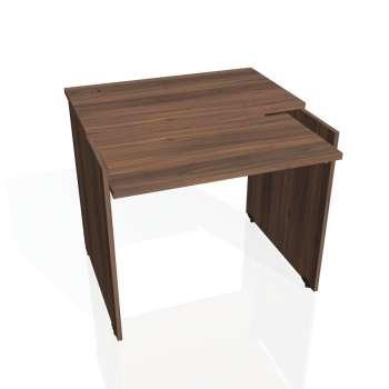 PC stůl Hobis GATE GS 9 X, ořech/ořech