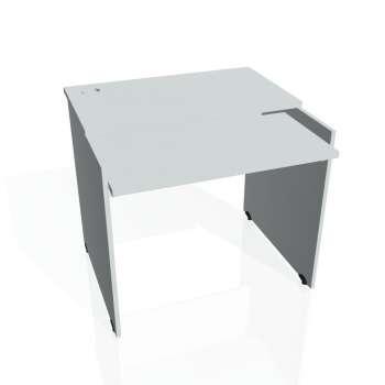 PC stůl Hobis GATE GS 9 X, šedá/šedá