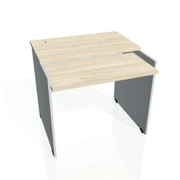 PC stůl Hobis GATE GS 9 X, akát/šedá