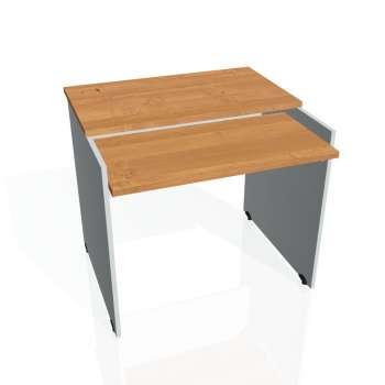 PC stůl Hobis GATE GS 9 X, olše/šedá