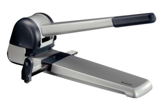 Děrovačka Leitz 250 Super, stříbrná