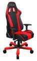 Herní židle DXRACER King OH/KS06/NR, černá/červená