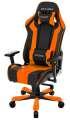 Herní židle DXRACER King OH/KS06/NO, černá/oranžová