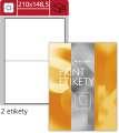 Univerzální etikety S&K Label - bílé, 210 x 148,5 mm, 200 ks