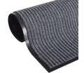 Vnitřní odolná polyesterová rohož, 60 x 90 x 0,9 cm - šedá