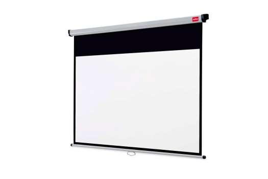 Projekční plátno nástěnné Nobo - 150 x 113,8 cm, širokoúhlé 16:10, bílé