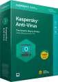 Kaspersky Anti-Virus 2018 CZ pro 1 zařízení / 1 rok, obnova licence