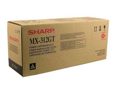 Kazeta tonerová Sharp MX-312GT, černá