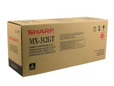 Toner  Sharp MX-312GT, černá