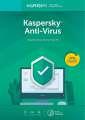 Kaspersky Anti-Virus 2018 CZ pro 1 zařízení / 2 roky, nová licence