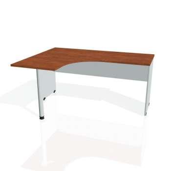 Psací stůl Hobis GATE GE 60 pravý, calvados/šedá