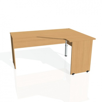 Psací stůl Hobis GATE GEV 60 levý, buk/buk