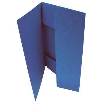 Prešpánové desky se třemi chlopněmi, modrá , 20 ks