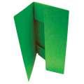 Prešpánové desky se třemi chlopněmi HIT Office - A4, zelené, 20 ks