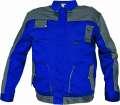 Montérková bunda MAX EVO - modrá-šedá, vel. 58