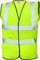 Reflexní vesta HV LYNX PLUS - žlutá, vel. XXXXL