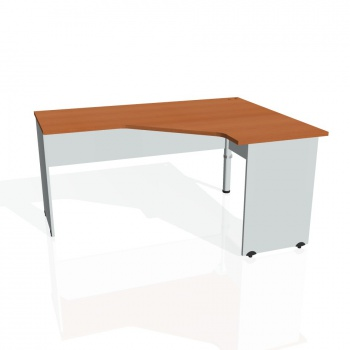 Psací stůl Hobis GATE GEV 60 levý, třešeň/šedá