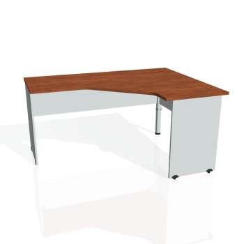 Psací stůl Hobis GATE GEV 60 levý, calvados/šedá