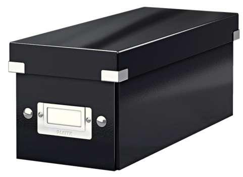 Krabice na CD LEITZ Click-N-Store - A4, černá