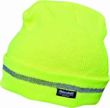 Reflexní čepice TURIA - žlutá 5897a88612