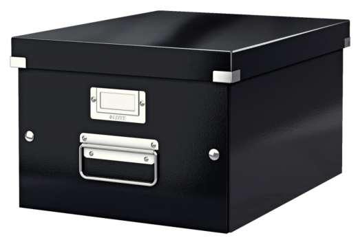 Krabice LEITZ Click-N-Store - A4, univerzální, černá