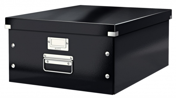 Krabice LEITZ Click-N-Store - A3, univerzální, černá