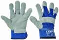 Kombinované rukavice EIDER -modrá, vel.9