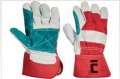 Kombinované rukavice MAGPIE - červená, vel. 11