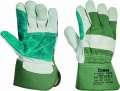 Kombinované rukavice MAGPIE, zelená, vel. 12
