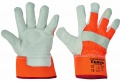 Rukavice CURLEW Winter HiVis HV -oranžová,vel.10