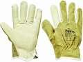 Celokožené rukavice HERON, vel. 10