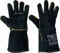 Celokožené rukavice SANDPIPER BLACK - vel. 11