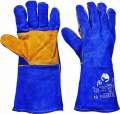 Celokožené rukavice PUGNAX BLUE FH - vel. 10