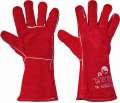 Celokožené rukavice PUGNAX RED FH  - vel. 10