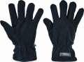 Zimní fleece rukavice MYNAH - černé, vel. 10