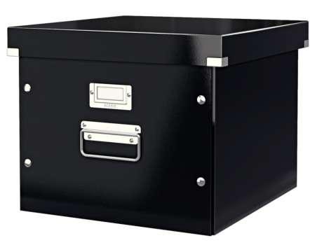 Krabice na závěsné desky LEITZ Click-N-Store - A4, černá