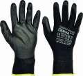 Nylonové rukavice BUNTING BLACK - vel. 8