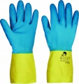 Latex/neopren rukavice CASPIA FH -  vel. 9
