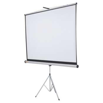 Projekční plátno se stativem Nobo - 175 x 132,5 cm, bílé