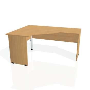 Psací stůl Hobis GATE GEV 60 pravý, buk/buk